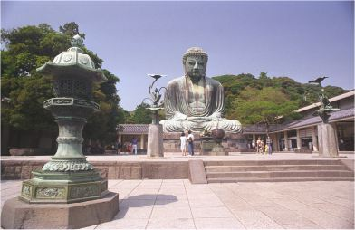le grand bouddha Amitabha de Kamakura