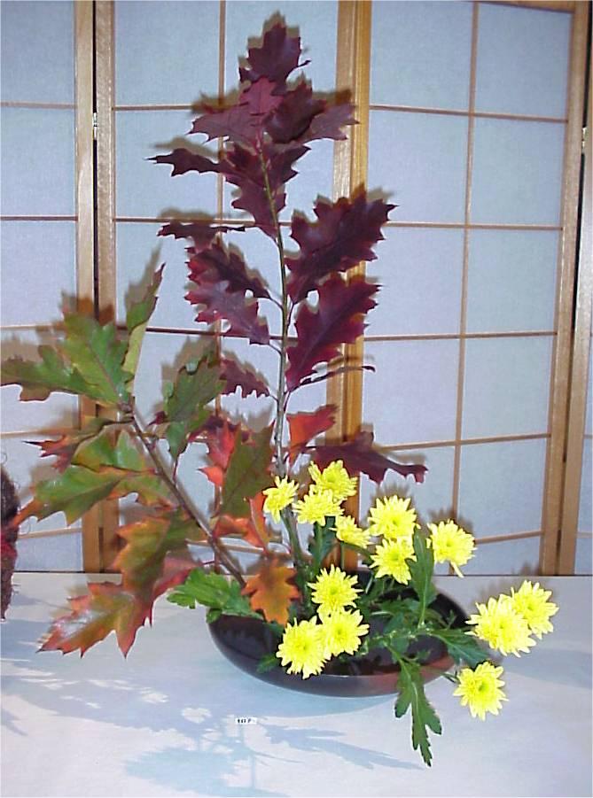 Ikebanaausstellung 750 jahre geroldswil daniela jost for Japanische blumenkunst