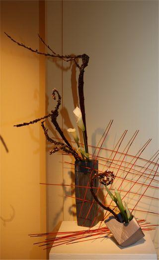 Giardina 2012 Ikebana International Ausstellung Marlis Wüst