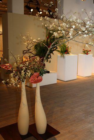 Giardina 2012 Ikebana International Ausstellung Anton Schmucki Eduard Helfer