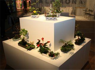 Giardina 2012 Ikebana International Ausstellung Ohara Gruppe