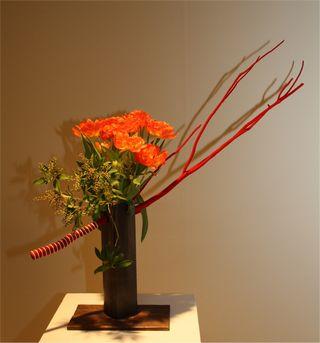 Giardina 2012 Ikebana International Ausstellung Renate Beurer