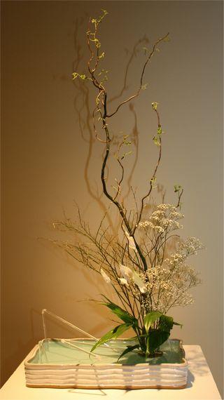 Giardina 2012 Ikebana International Ausstellung Janet Haeberli