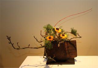 Giardina 2012 Ikebana International Ausstellung Ursula Prutsch