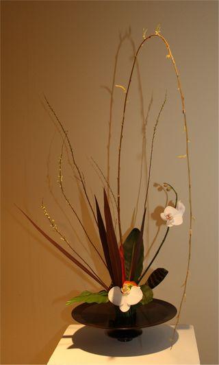 Giardina 2012 Ikebana International Ausstellung Susann Buehrer