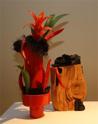 Giardina 2012 Ikebana International Ausstellung Helen Rosewich