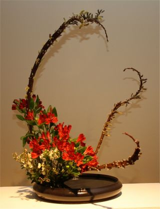 Giardina 2012 Ikebana International Ausstellung Enrica Puma