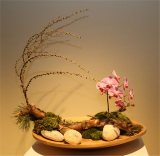 Giardina 2012 Ikebana International Ausstellung Jo Lengacher