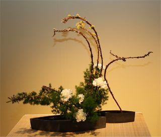 Giardina 2012 Ikebana International Ausstellung Martha Bachmann