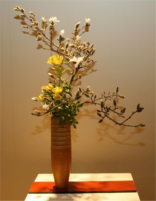Giardina 2012 Ikebana International Ausstellung Nobuko Moser