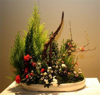 Giardina 2012 Ikebana International Ausstellung Hildegard Eilmann