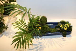 Giardina 2012 Ikebana International Ausstellung Ohara Gruppenarbeit