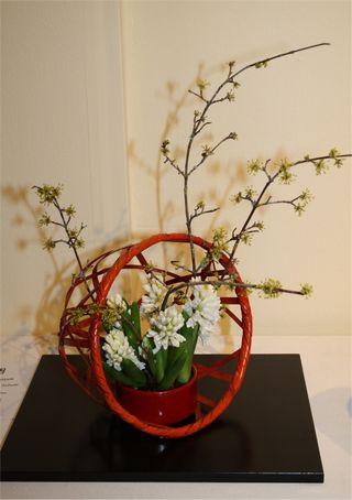 Giardina 2012 Ikebana International Ausstellung Ursula Hayek