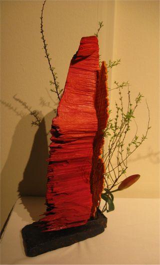 Giardina 2012 Ikebana International Ausstellung Elisabeth Gubelmann