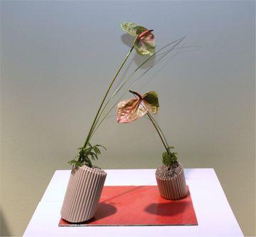 Giardina 2013 Ikebana International Ausstellung Daniela Jost