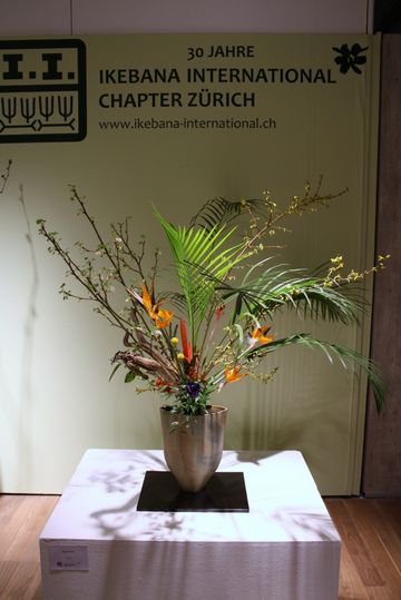 Giardina 2013 Ikebana International Ausstellung Daniela Jost
