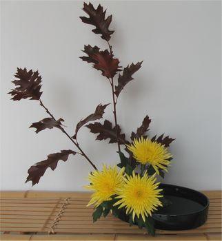 Moribana Herbstgesteck Daniela Jost
