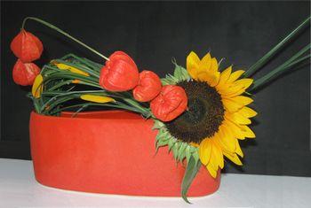 Freestylegesteck Sonnenblume