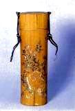 Bambusbehälter für Ikebana