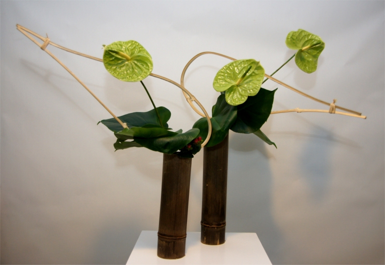 triemli spital z rich ikebana ausstellung 2011 zum 20 j hrigen jubil um der sogetsu study group. Black Bedroom Furniture Sets. Home Design Ideas