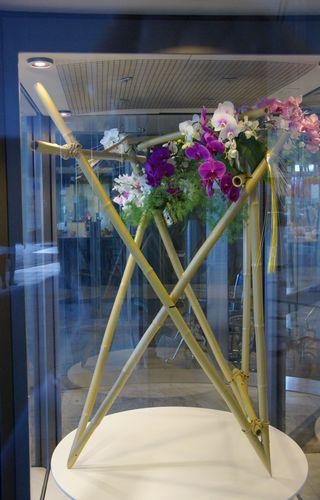 Sogetsu Study Group Zurich 20-jährigen Jubiläum Ausstellung im Spital Triemli November 2011