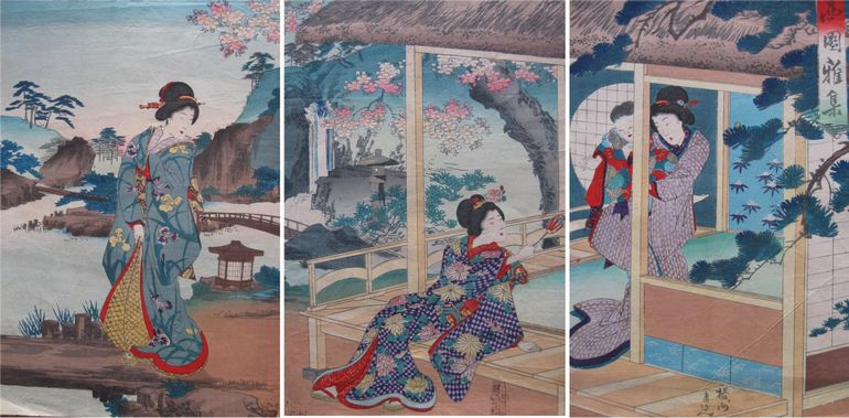 Chikanobu_Beauties_in Spring_Afternoon.jpg