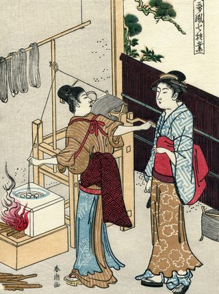 Katsukawa Shuncho Sericulture