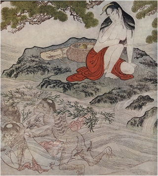 Utamaro Kitagawa Shunga