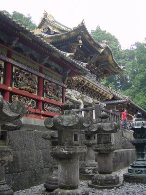 Japan Geschichte Momoyama Periode Japanische Steinlaterne Roman