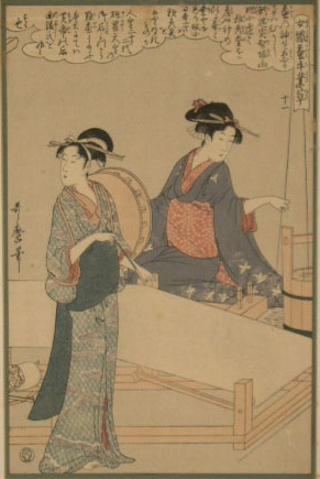 UtamaroKitagawa Joshoku Kaiko Tewaza Kusa Bild11