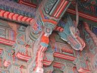 Bulguksa Tempel Korea Tempeldecke Drache