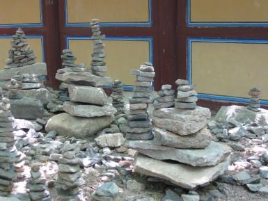 Bulguksa Tempel Korea Steinpagoden
