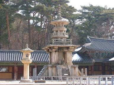 Bulguksa Tempel Korea Dabotap Pagode