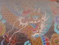 Bulguksa Tempel Korea Drache Trommel