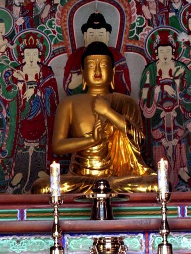 Bulguksa Tempel Korea Buddha Vairovana