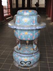 Gyeongbokgung-Palast Seoul Incentbehälter