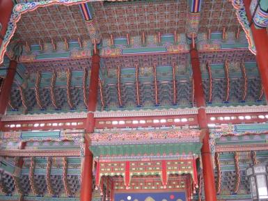 Gyeongbokgung-Palast Seoul Deckenansicht