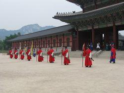 Gyeongbokgung-Palast Seoul Wachablösung