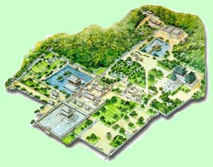 Gyeongbokgung-Palast Seoul Übersichtskarte