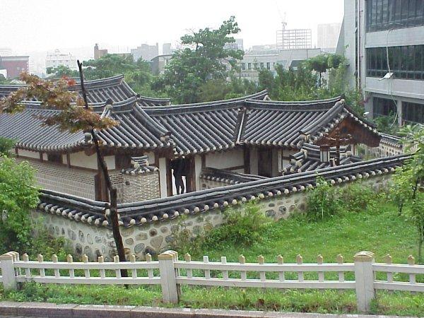 Traditionelle Japanische Häuser namsangol hanoak freilichtmuseum in seoul daniela jost