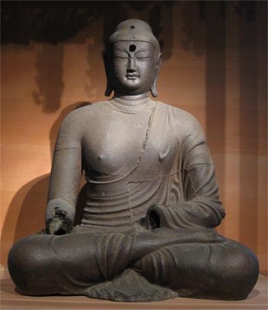 Seoul National Museum Buddha Statue