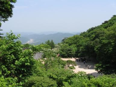 Seokguram-Grotto Korea Sicht auf japanisches Meer