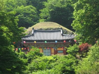 Seokguram-Grotto Korea Sicht auf Eingangsbereich