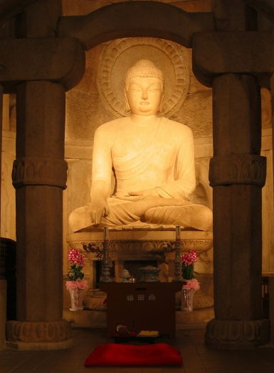 Seokguram-Grotto Korea Buddha Heiligtum Siddharta