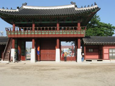 Suwon Hwaseong Haenggung Tor Innenseite