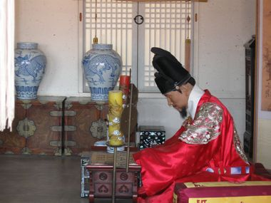 Suwon Hwaseong Haenggung Palast Studierzimmer