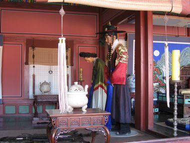 Suwon Hwaseong Haenggung Palast König