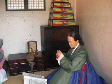 Suwon Hwaseong Haenggung Bedienstete