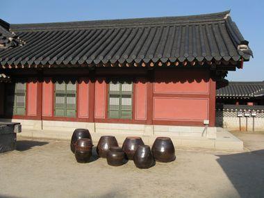 Suwon Hwaseong Haenggung Palast Kimchitöpfe