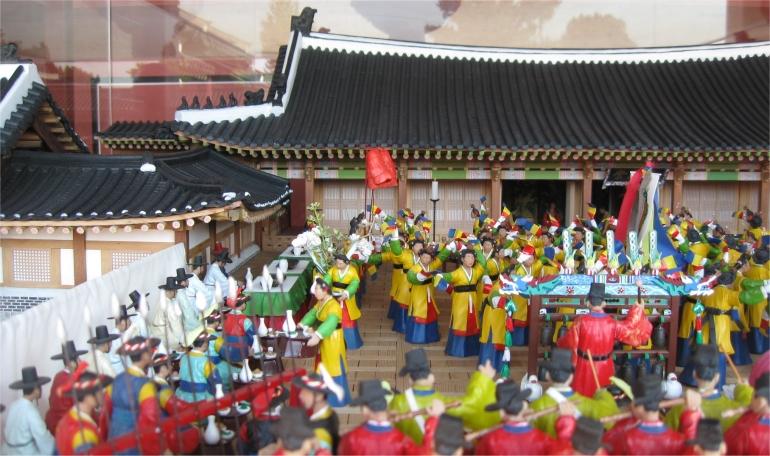 Suwon Hwaseong Haenggung Palastzeremonie